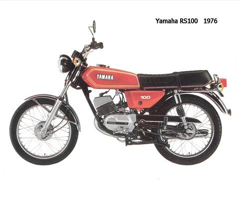 Yamaha RS 100 onderdelen