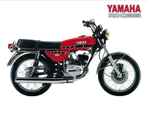 Yamaha  RX 125  onderdelen