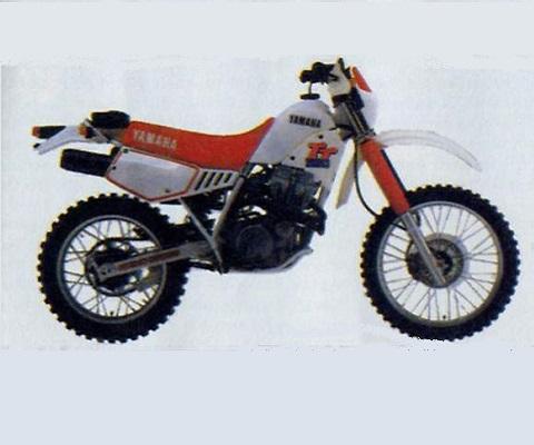 Yamaha TT350 onderdelen