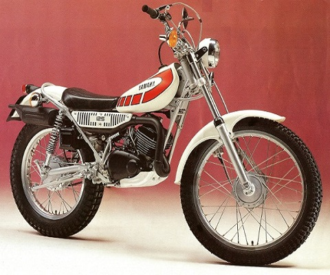 Yamaha TY 125 onderdelen