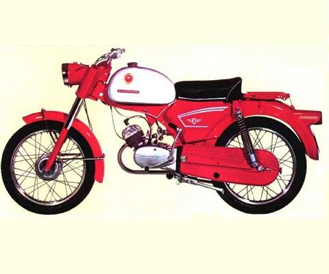 Zundapp 517 KS50 3 SPEED 1967 (SE) onderdelen
