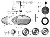 Zundapp - 517-34l5  gt50 - Deksel rechts + koppeling