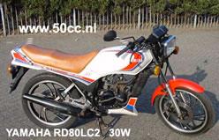 Yamaha RD 80 LC2 30W