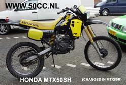 Honda MTX 50 SH