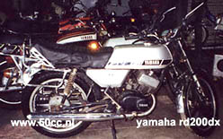 Yamaha RD 200 DX