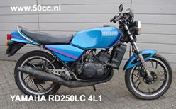 Yamaha RD 250 LC 4L1