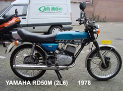 Private collection Yamaha RD's - 50cc eu