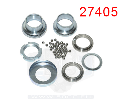 Bearings for tomos quadro scooters, mopeds and 2-stroek